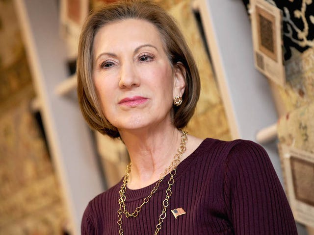 Carly Fiorina to Interviewer: 'I Don't Accept Your Premise That HP Had Misfortunes'