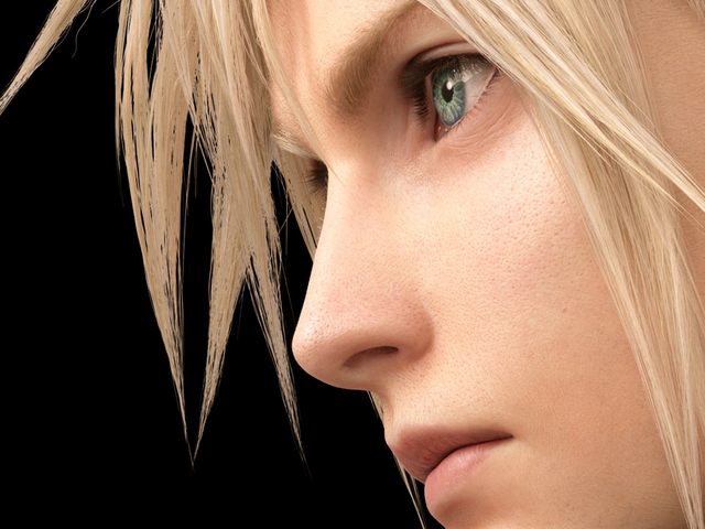Final Fantasy VII Remake Renders Provide A Good Look At Cloud's Pores