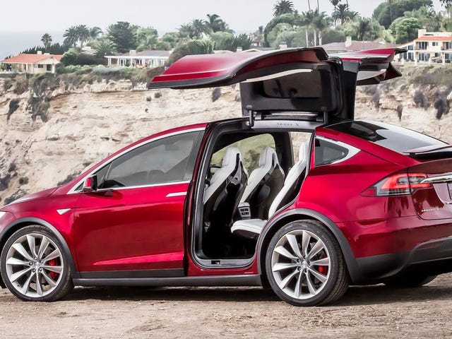 Tesla To Recall 2700 Model X SUVs Over Rear Seats That Could Fold In Crash