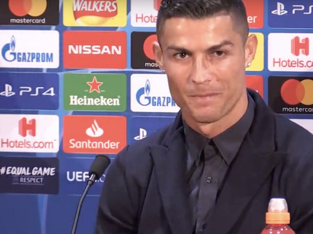 Cristiano Ronaldo Faces, Mostly Dodges Questions About The Rape Allegation Against Him