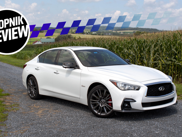 The 400 HP 2018 Infiniti Q50 Red Sport AWD Is So Close to Being Good It Hurts