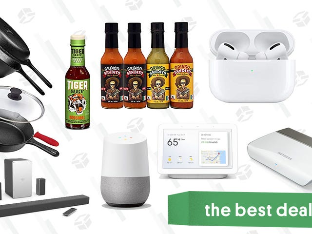 Thursday's Best Deals: Hot Sauce, AirPods Pro, Google Home, Backcountry, and More