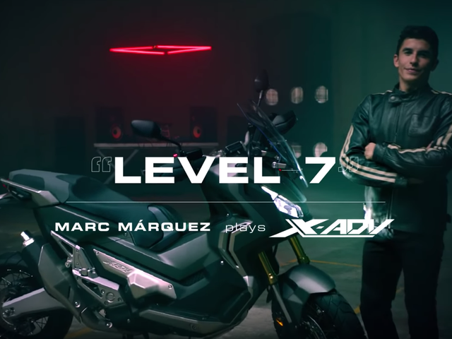 Marc Marquez Making Music out of a Honda X-ADV Is What ASMR Was Made For