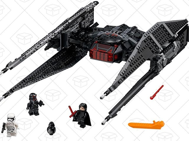 Face Your Own Daddy Issues With Kylo Ren's LEGO Tie Fighter Kit