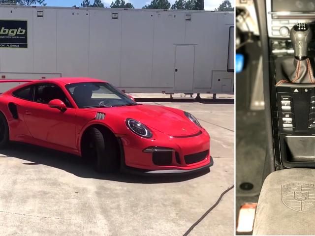 Bagaimana Pahlawan Ini Memberi Porsche 911 GT3 RS Ini Manual Gearbox It Deserves