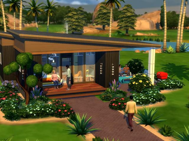 Simarna får officiellt små hus