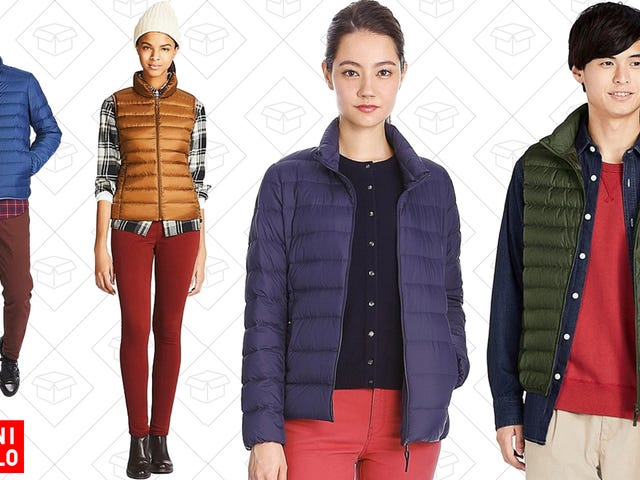 Bundle Up On the Cheap With Uniqlo's Ultra Light Down Sale