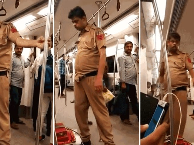 'Drunk' Policeman Who Went Viral Was Actually Having a Stroke