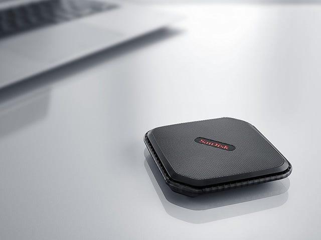 SSD Ultra-Fast Portable SanDisk Belum Pernah Murah