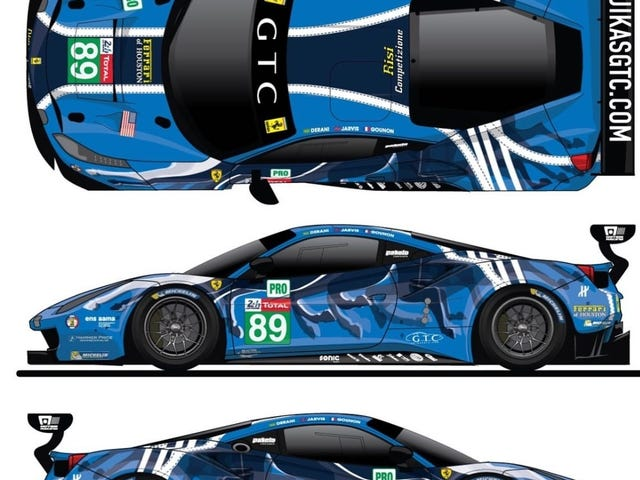 We are going to be an Art Car this year at LeMans
