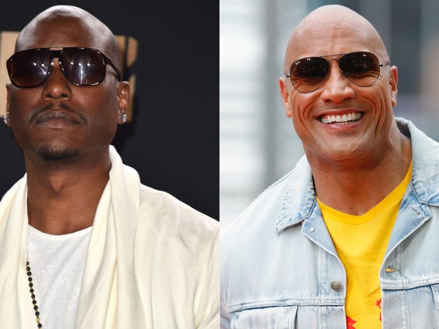 Tyrese Sarcastically Thanks Dwayne Johnson for Ruining the Fast & Furious Franchise