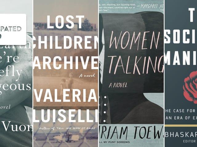 Os 15 livros mais esperados de 2019
