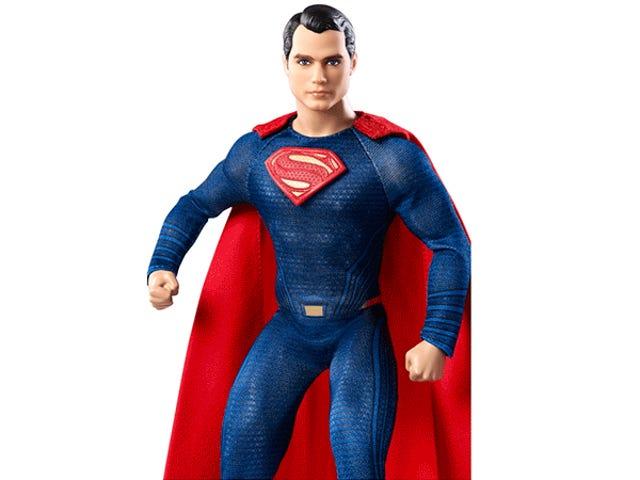 Δεν μπορώ να σταματήσω να κοιτάζω στα ονειροπόλα μάτια του Superman Barbie