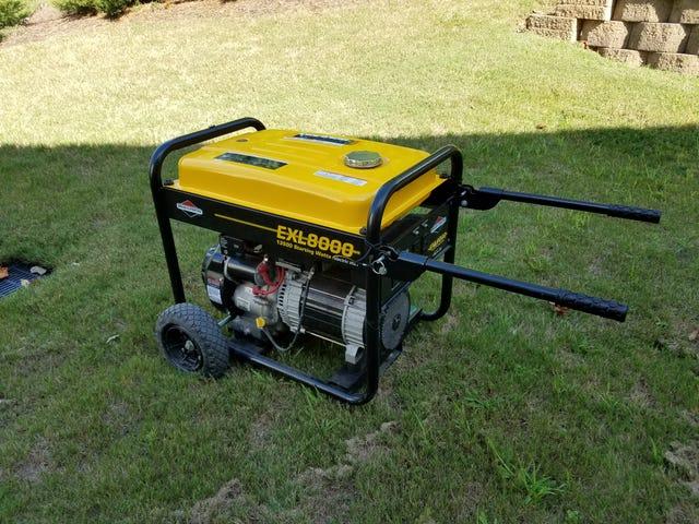 Generator 15 hp/8000 watts