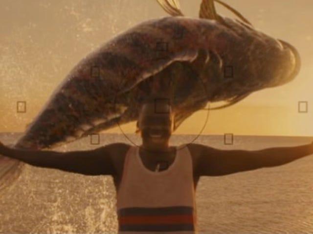 Get Out Bintang Daniel Kaluuya Menjadi Takut Dengan Ikan Raksasa dalam Fantasy Jonah Pendek