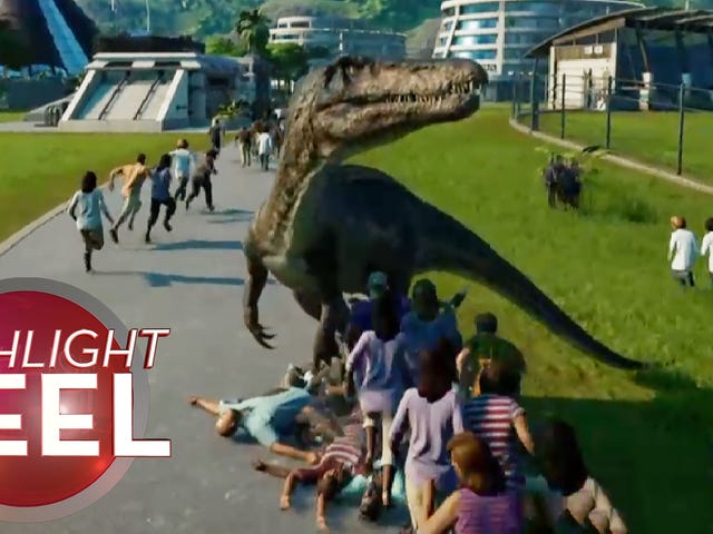 <i>Jurassic World,</i> elämä saa tien