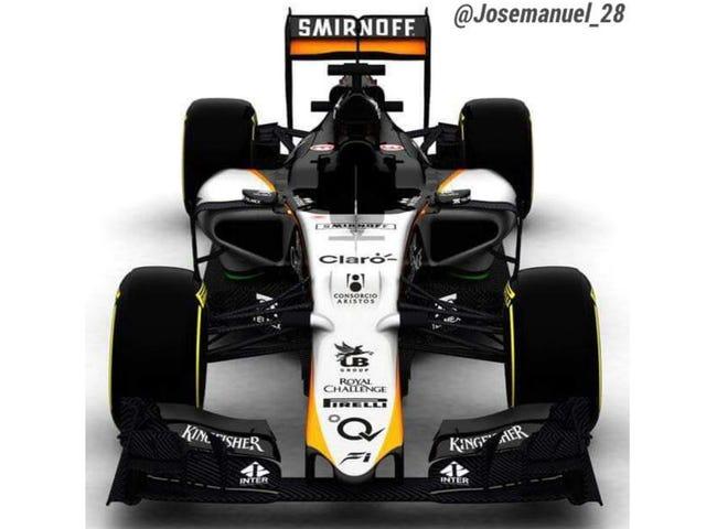 Force India Will Test Sa Barcelona, Ngunit Ay Hindi Dalhin nito 2015 Kotse Pa