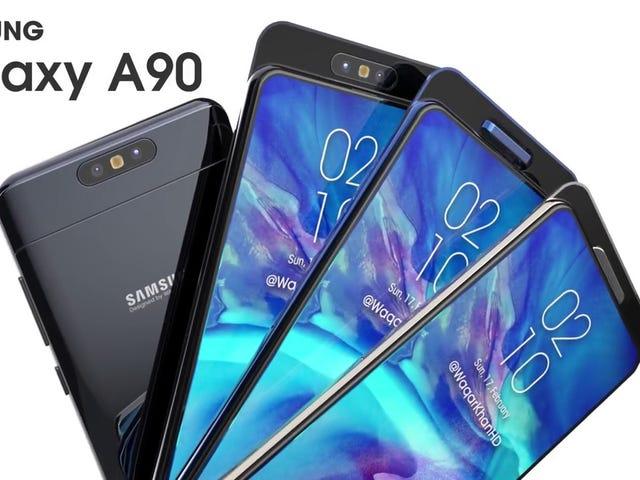 Anda boleh menggunakan ciri-ciri telefon bimbit terbaru dari Samsung dengan telefon bimbit