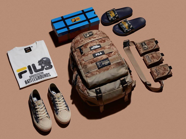 Fila's Official PlayerUnknown's Battlegrounds Merchandise Looks Okay