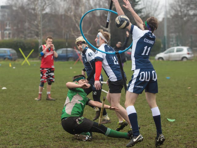 Real Life Quidditch Sounds Terrible