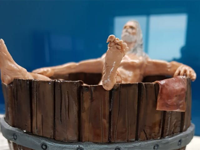 Witcher Birthday Cake Features Hot Tub, Dick