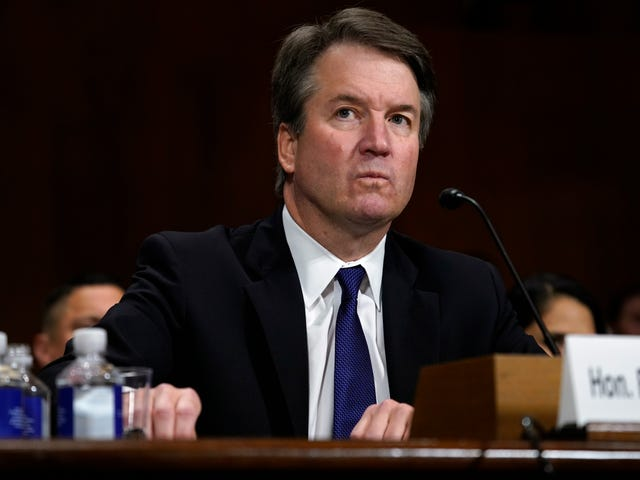 It's Official: Accused Sexual Predator Brett Kavanaugh Is a Supreme Court Justice