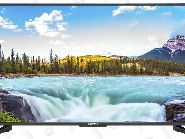 """Snag a No-Frills 50"""" TV For Only $180, Or 55"""" 4K For $250"""