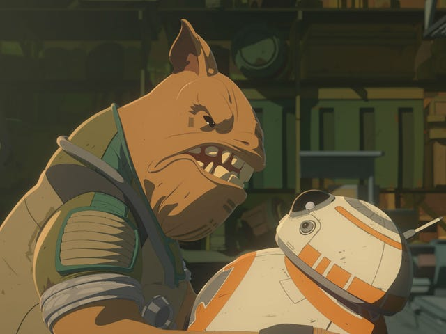 BB-8 Got to Kick Some Ass in This Week's Star Wars Resistance