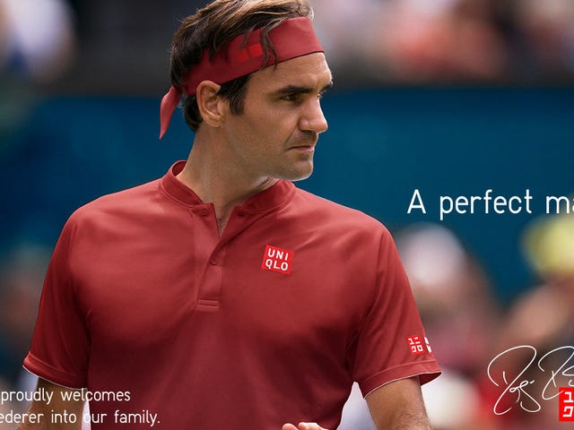 Uniqlo Finally Got Around to Selling Roger Federer Gear, and It's a Lot Cheaper Than Nike's