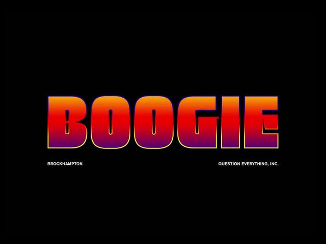 2017 in 10 Tracks: BROCKHAMPTON - Boogie