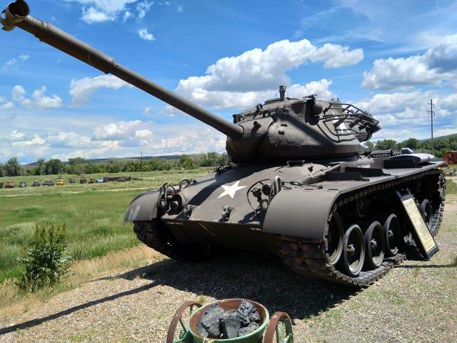 It's a tank!