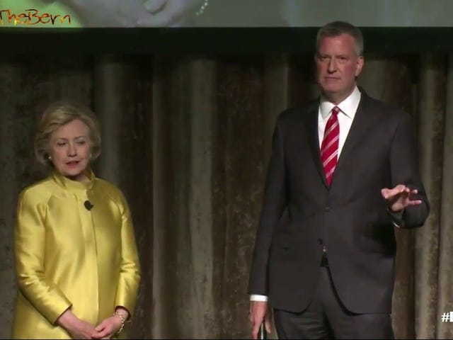 What Was Anyone Thinking Letting Bill de Blasio and Hillary Clinton Joke About 'Colored People Time'?