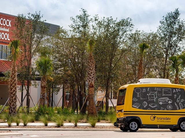 Feds Order Company to Stop Shuttling Florida Kids to School in Autonomous Bus
