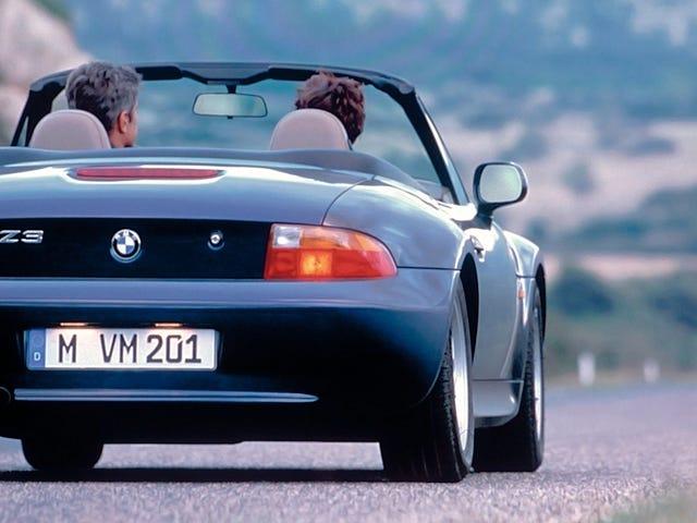 Hej vän, kanske du borde köpa en BMW Z3 istället för en Mazda Miata