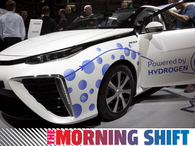 Toyota Says It's Going All In On EVs While Going All In On Hydrogen Somehow