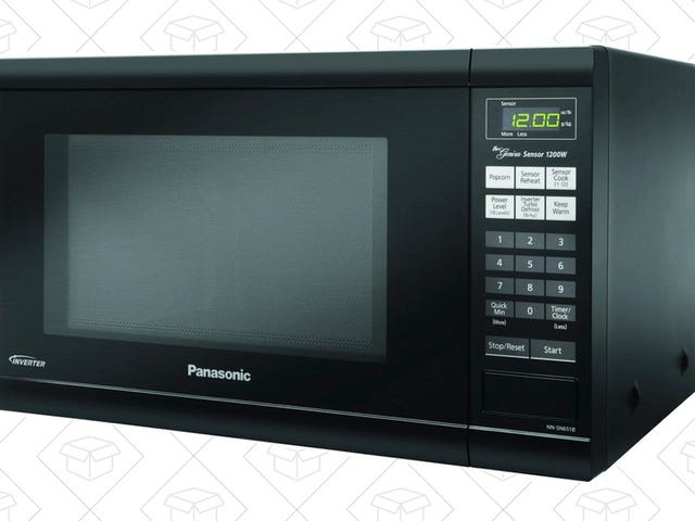 Start Nuking Your Meals In This Panasonic Microwave For $20 Less Today