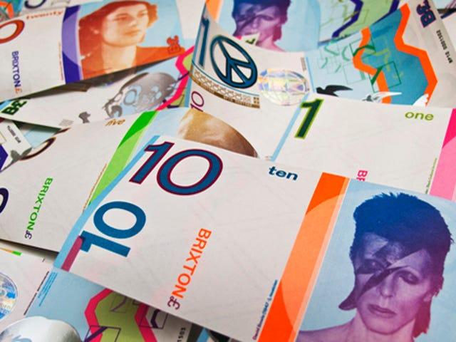 Tiền giấy Bowie được định lượng