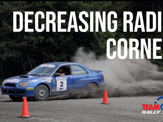 Here's How To Tackle A Decreasing Radius Turn Like A Champion