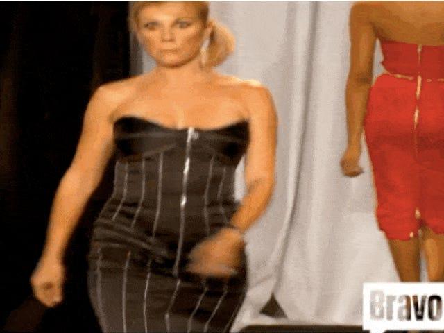 Ramona Singer's 2010 Runway Walk er stadig mode ugens mest mindeværdige øjeblik
