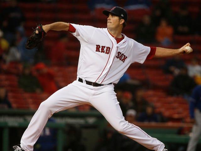 Red Sox Strike Out 20 After Four-K Negende Inning, gelijkspel Major-League Record