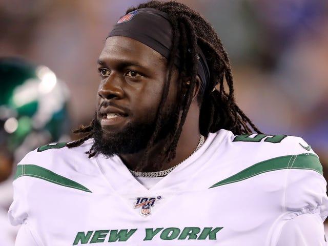 Jets de Nueva York cortaron a un chico cuatro meses después de reclutarlo en la tercera ronda