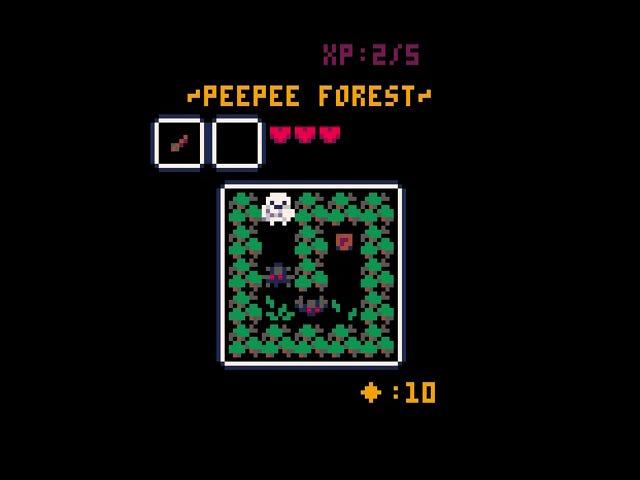 <i>Paisley Princess</i> er et fantastisk, lite eventyrspill i et 5x5-rutenett