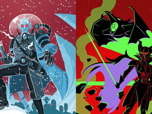 Disse villainous Character Art Mashups vil bringe terror til hvert fiktivt univers