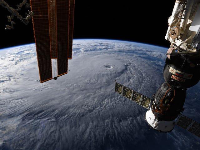 Sådan ser Hurricane Lane ud fra rummet, en nådeløs storm 250 kilometer i timen