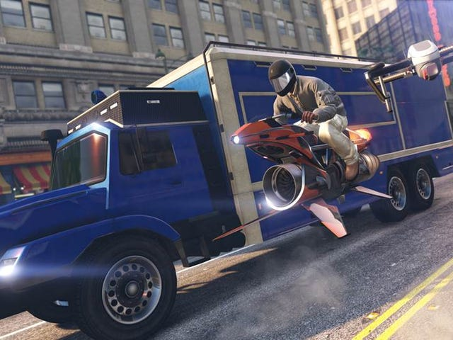 GTA Online's Newest Truck Is Really Helpful (And Pretty Expensive)