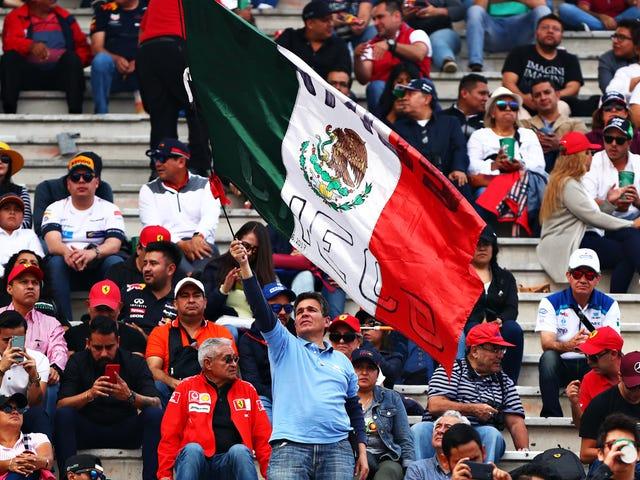 As corridas norte-americanas da Fórmula 1 são algumas das mais freqüentadas: Relatório