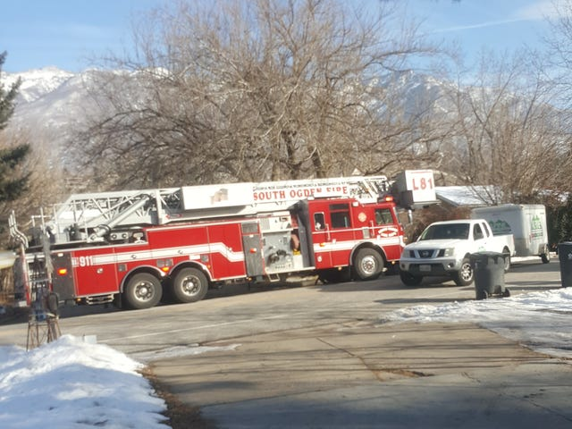 ऊह देखो, एक अग्नि ट्रक!