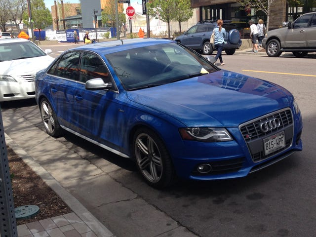 Spotted: Nogaro Blue S4 & RS6