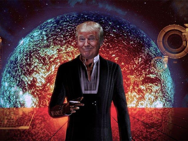 Donald Trump Tweet Iklan Kempen yang Mengerikan Itu Rips Off <i>Mass Effect</i>