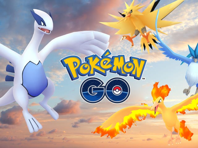 Pokémon Go's First Legendaries Are Lugia and Articuno, Both Live Now [UPDATE]